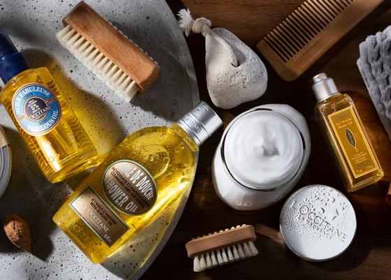 Bath & Body products - L'Occitane