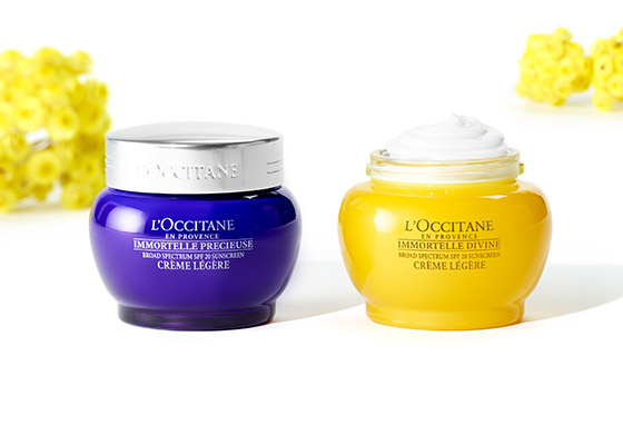 Immortelle Precious Light Cream SPF 20 - L'Occitane