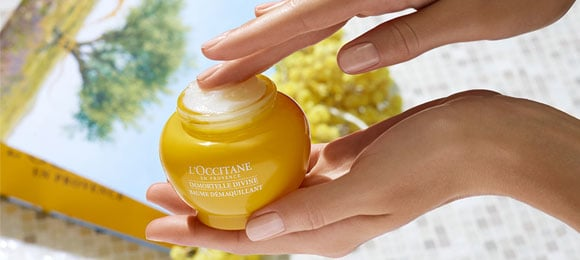 Immortelle Divine Cleansing Balm - L'Occitane