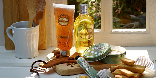 Almond shower products - L'Occitane