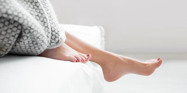Beautiful feet - L'Occitane