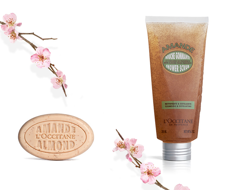 Almond body Scrubs - L'Occitane