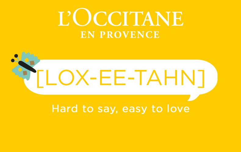 Simply Pronounced - L'OCCITANE