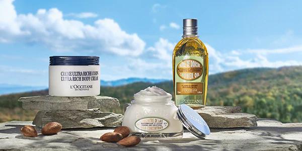 L'Occitane body care products