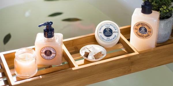 Shea bath products - L'Occitane