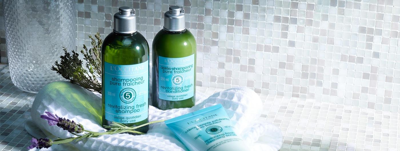 Revitalizing Hair Care - L'Occitane
