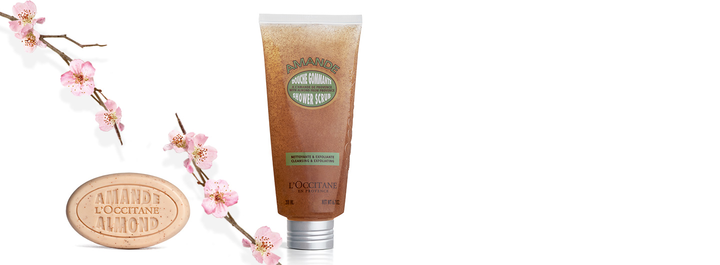 Almond body Scrubs - L'Occitane