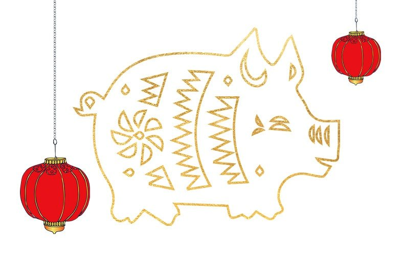 WELCOME IN THE YEAR OF THE PIG