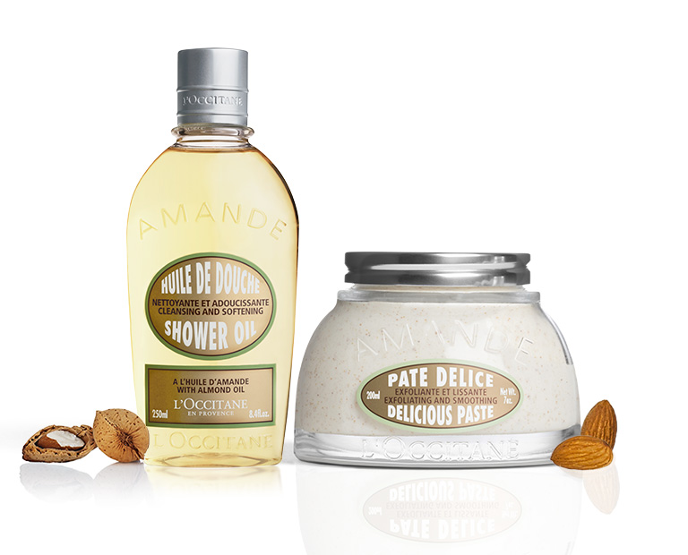 Almond Shower Oil and Delicious Paste - L'Occitane