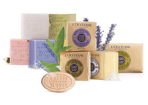 Traditional French Soaps - L'Occitane
