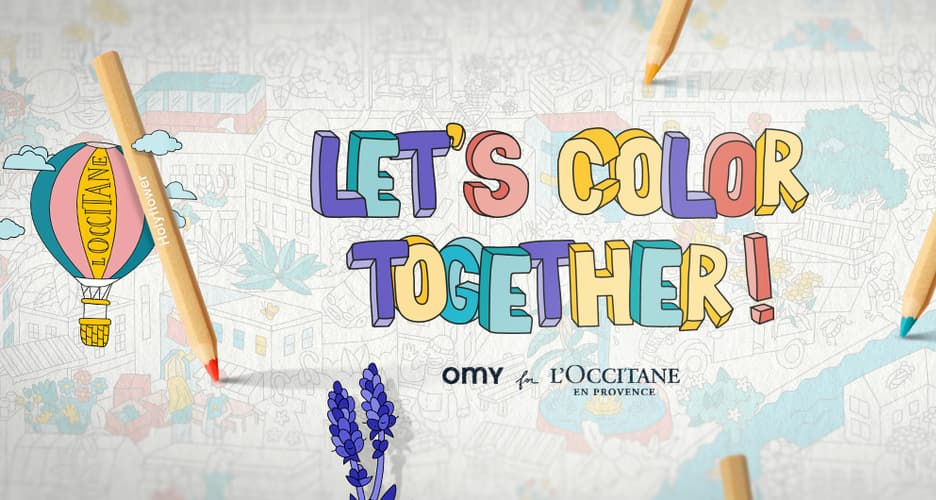Let's Color Together!