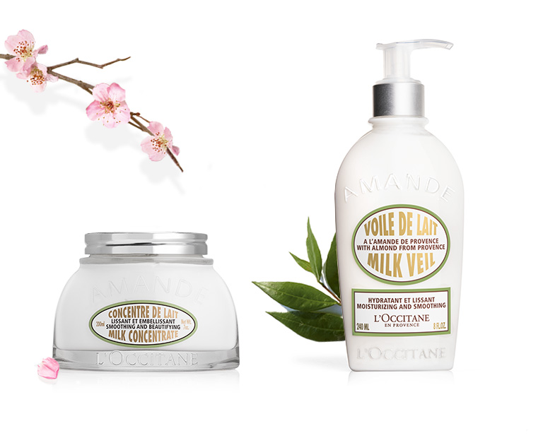 Almond body moisturizers - L'Occitane
