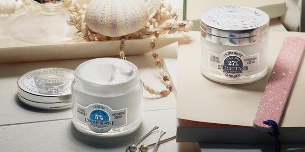 Shea facial moisturizers - L'Occitane