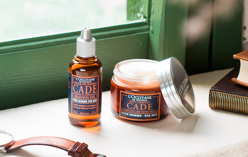 Cade shaving products - L'Occitane
