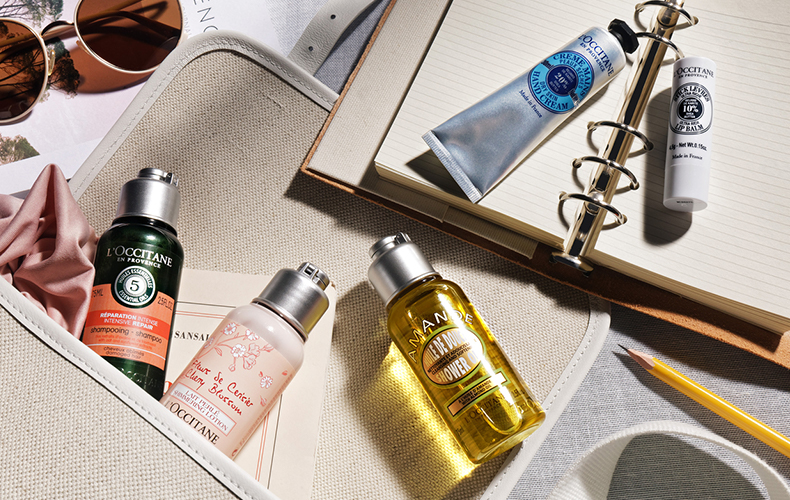 travel essentials - L'OCCITANE